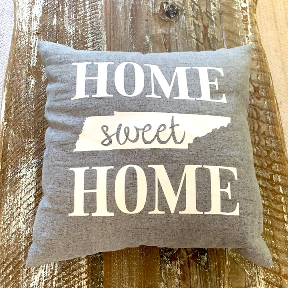 Tennessee Home Sweet Home decorative pillow